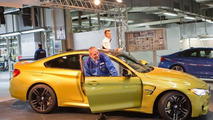 First BMW M4 Coupe rolls off the assembly line