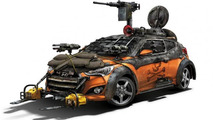 Hyundai Veloster Zombie Survival Machine 18.07.2013