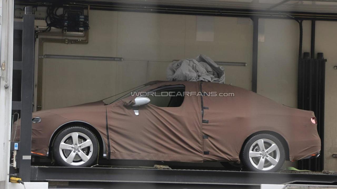 2015 Audi A4 spy photo