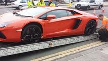UK Police auction seized Lamborghini Aventador for £218K