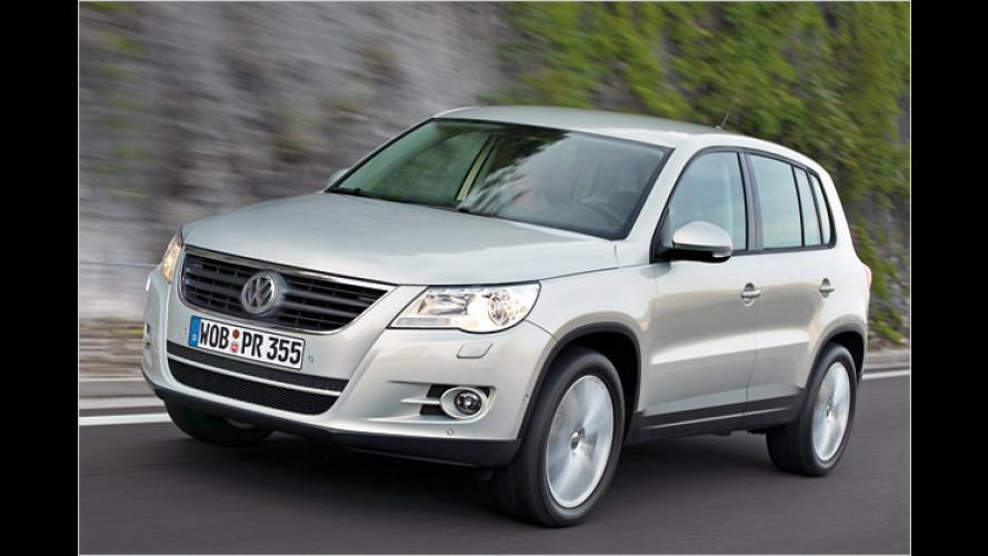 VW Tiguan: Aufgewertet ins neue Modelljahr