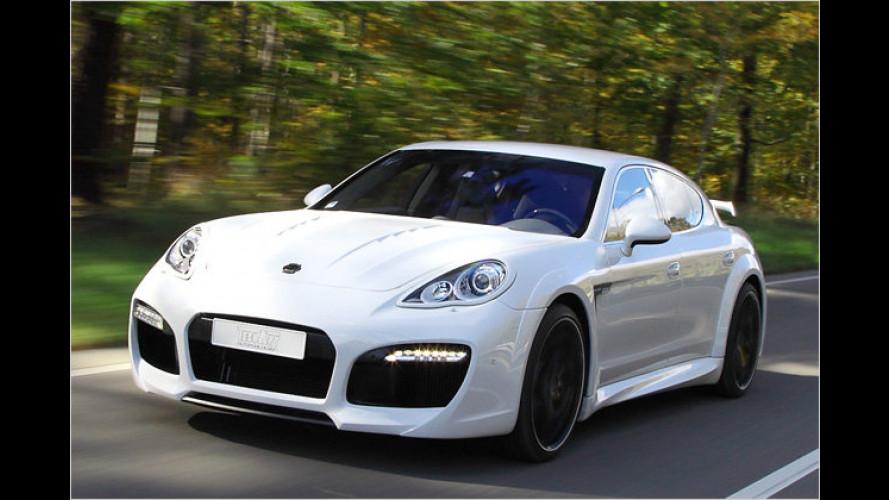 580 PS auf Knopfdruck: Techart Porsche Panamera Turbo