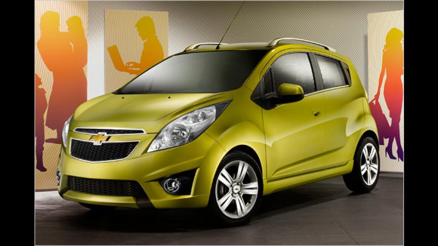 Preise jetzt fix: Chevrolet Spark startet im März 2010