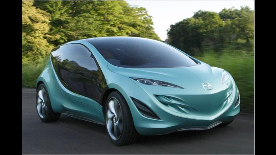Mazda: Neue Motoren und eine umweltfreundliche Studie