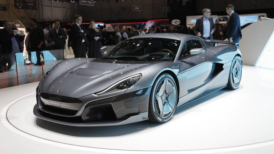 Rimac C_Two at the 2018 Geneva Motor Show