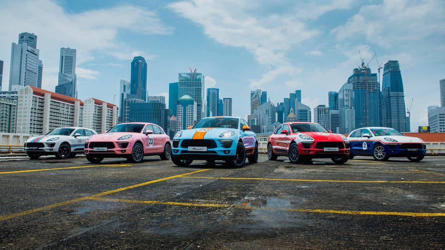 Porsche Spruces Up The Macan With Five Classic Motorsport Liveries