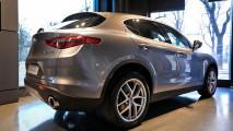 Alfa Romeo Stelvio in mostra a Parigi