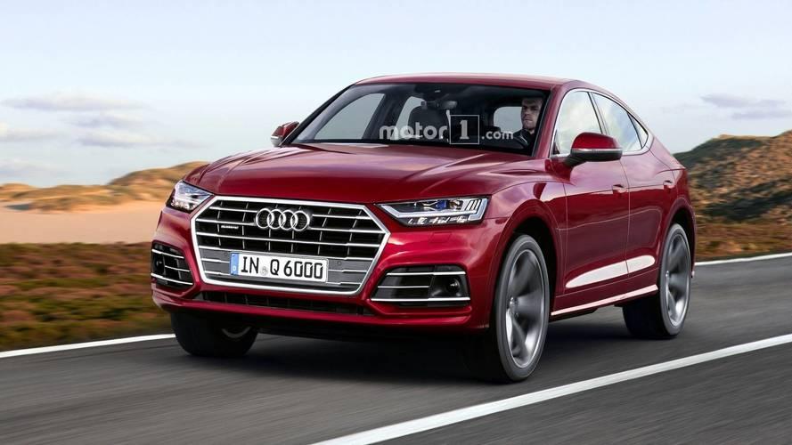 Audi Q6'nın tasarım yorumu gerçekçi görünüyor