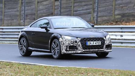Photos espion - L'Audi TT restylée aperçue pour la première fois