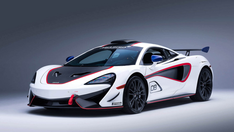 Zehn McLaren im Zeichen des X