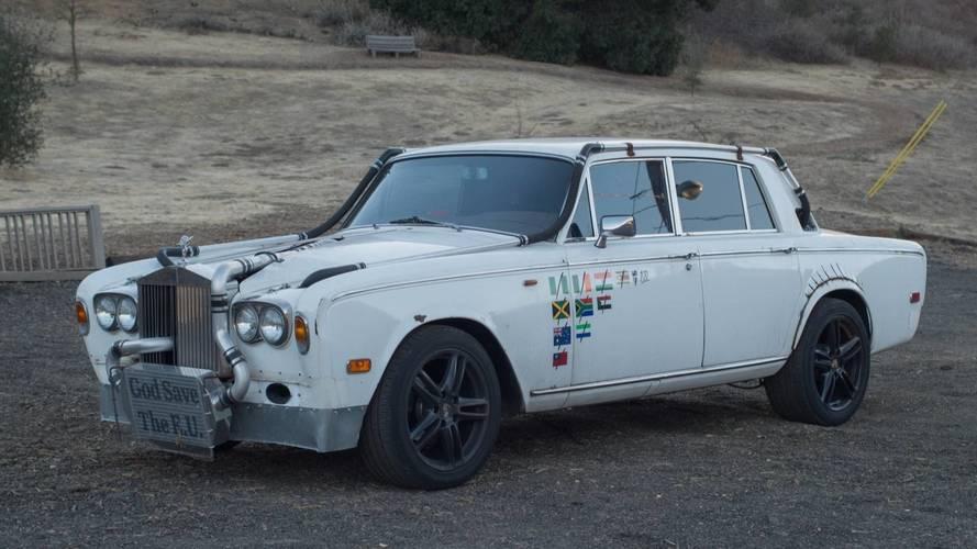 Avez-vous déjà vu ? Une Rolls-Royce transformée en Hot rod ?