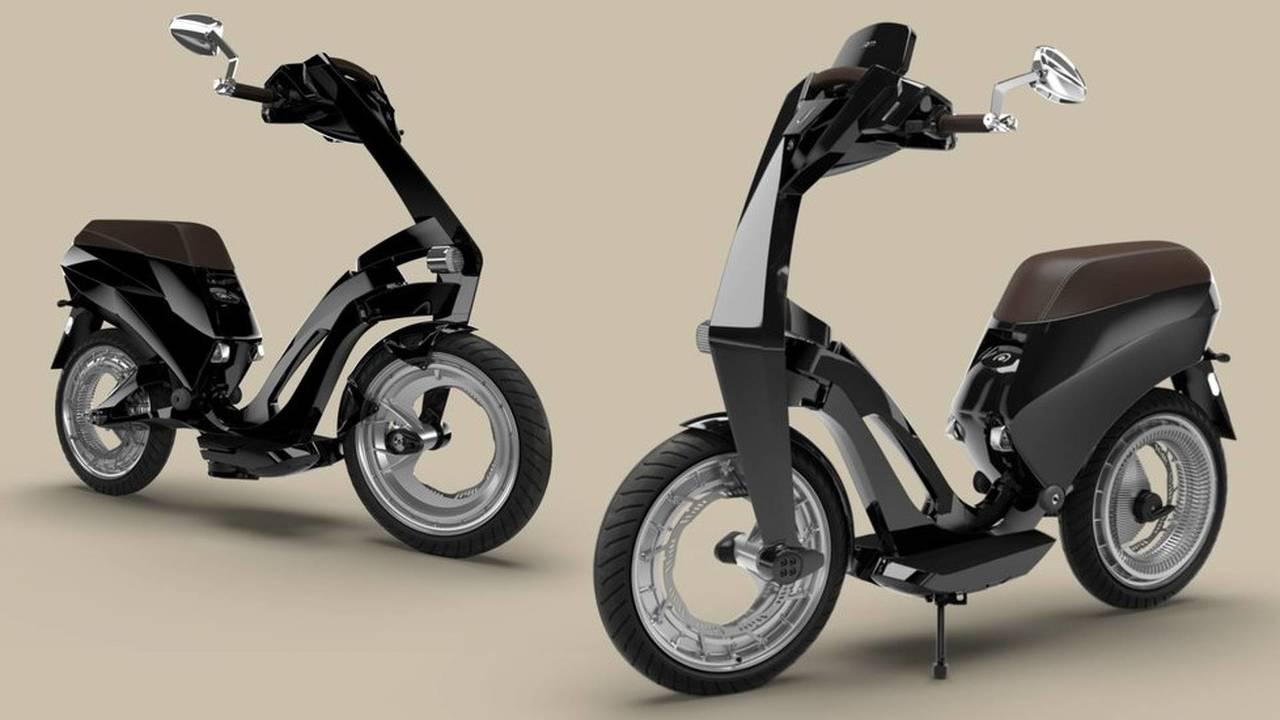 Ujet scooter eléctrico plegable