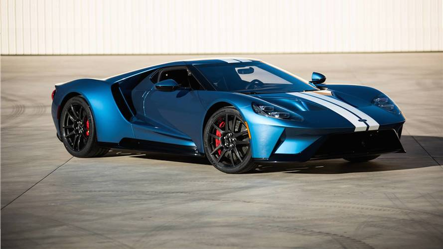 2017 Ford GT Sells For A Whopping $2.5 Million At Auction