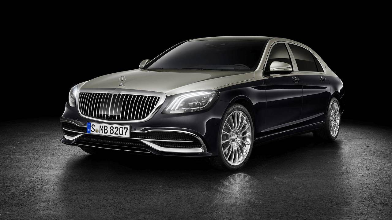 10.- Mercedes-Maybach S650 Sedan 2018