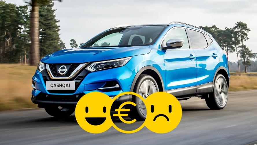 Promozione Nissan Qashqai, perché conviene e perché no