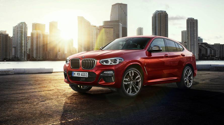 BMW X4 revealed, M40d performance diesel confirmed