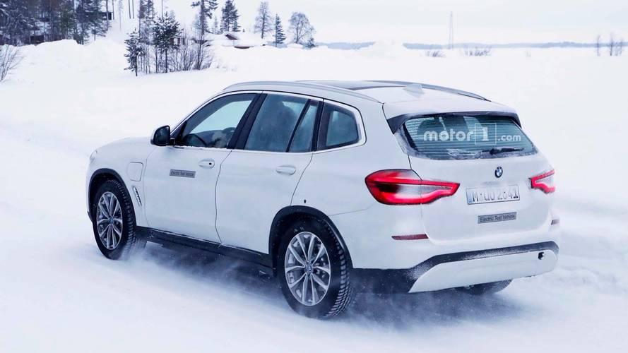BMW iX3 Spy Photo