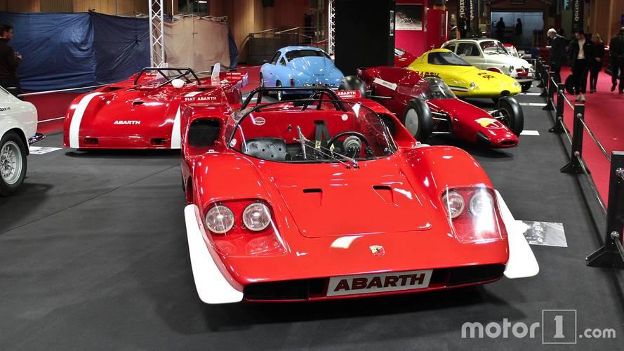 La Saga Abarth au Salon Rétromobile 2018