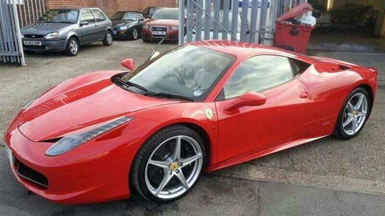 Ferrari 458 Italia (before crash) 24.05.2013
