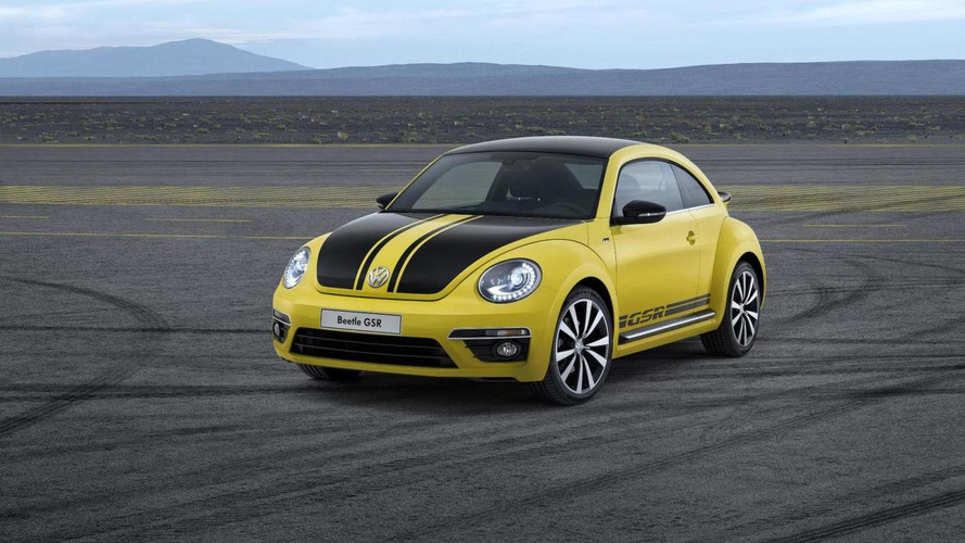 Volkswagen Beetle GSR Limited Edition unveiled in Chicago