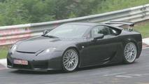 Lexus LF-A prototype on Nurburgring