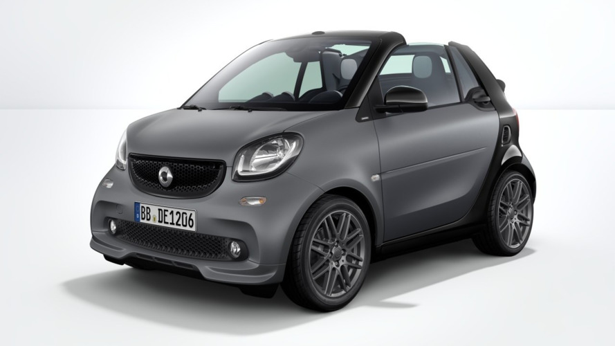 Smart ForTwo gains Brabus Sport Package for 2017MY