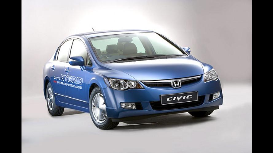 Honda Civic Hybrid: Mehr Kraft für die zwei Herzen