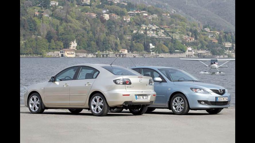 Modifizierter Mazda 3