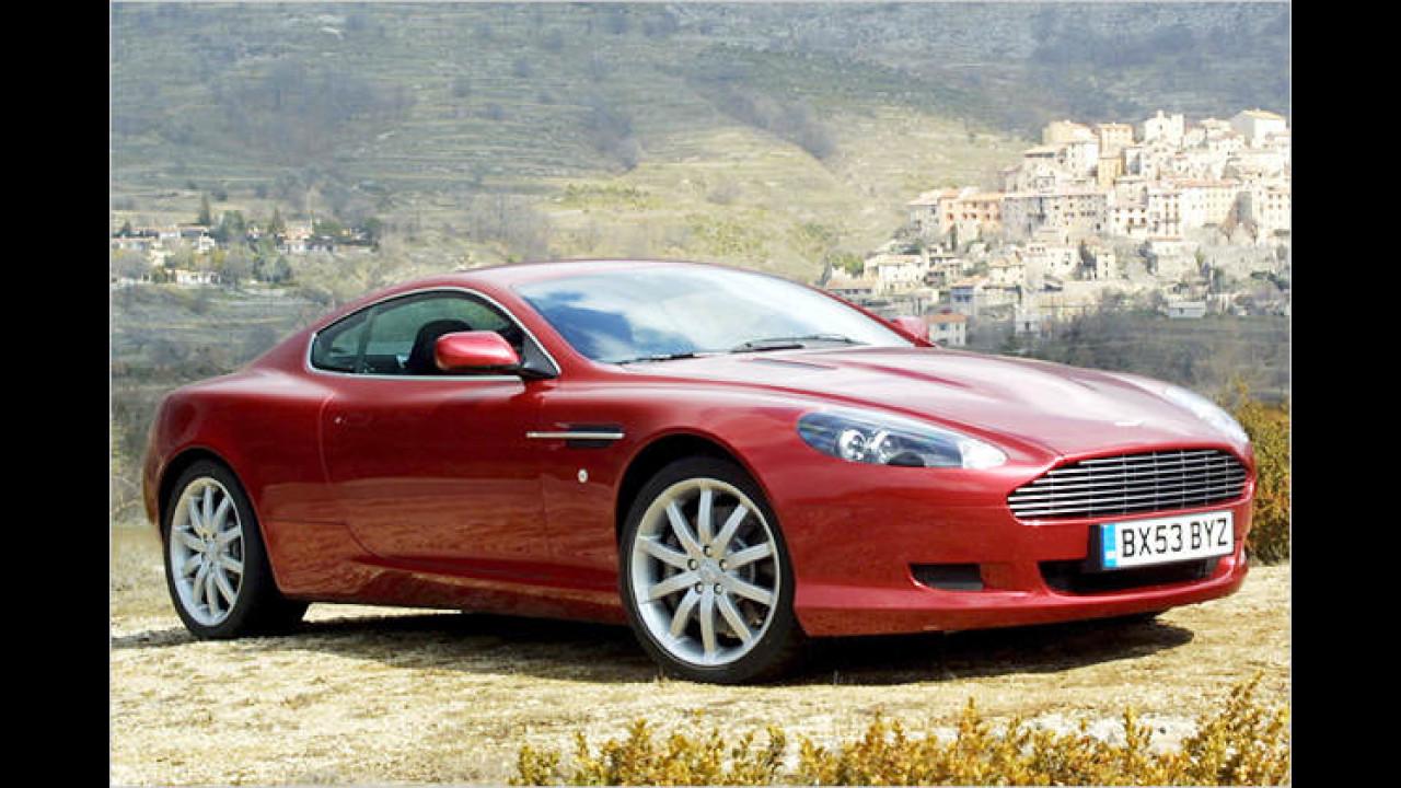 Platz 3 bei den Sportwagen: Aston Martin DB9 (11,5 Prozent)