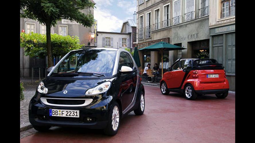 Smart: Neu überarbeiteter Fortwo – als Cabrio und Coupé