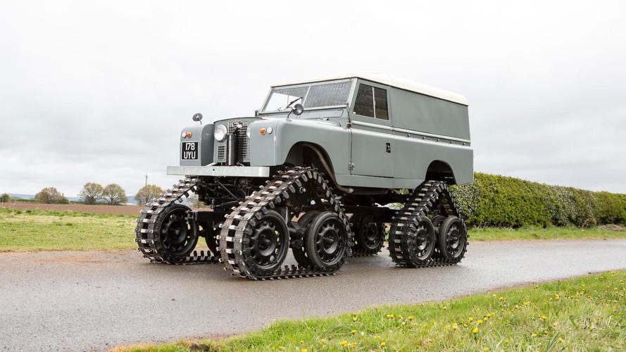 Land Rover oruga de 1958