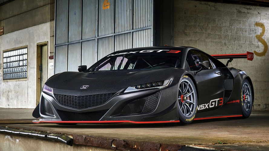 Honda NSX GT3 Set To Race In Europe