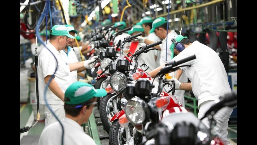 Motos: mercado fechará ano com queda de 11% nas vendas frente a 2013