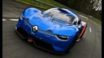 Renault Alpine A110-50 Concept tem mais imagens reveladas