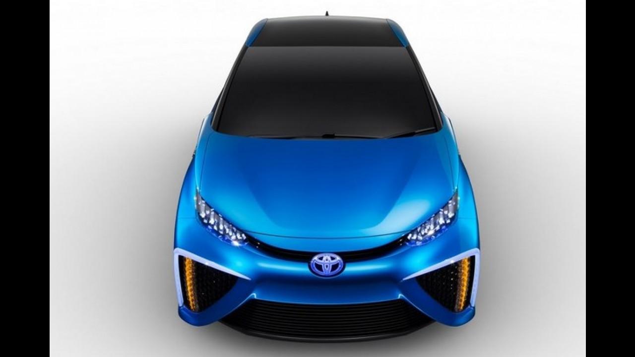 Toyota começa a produzir carro movido a hidrogênio em novembro