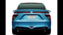 Esta é a versão final do Toyota FCV movido a hidrogênio que chega em 2015
