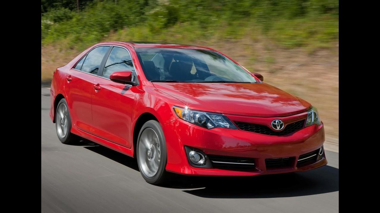 Novo Toyota Camry 2012 é revelado oficialmente - Veja fotos