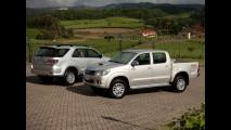 Oficial: Toyota Hilux e SW4 ganham novo motor 3.0 turbodiesel de 171cv e câmbio automático de 5 marchas