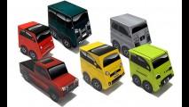 Fiat dá toy art de papel aos clientes