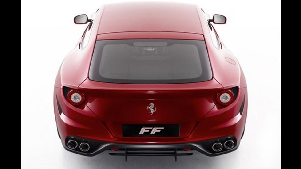 Nova Ferrari Four Concept é revelada (FF) - Veja vídeo e fotos oficiais