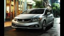 Honda Civic obtém nota máxima em segurança nos Estados Unidos