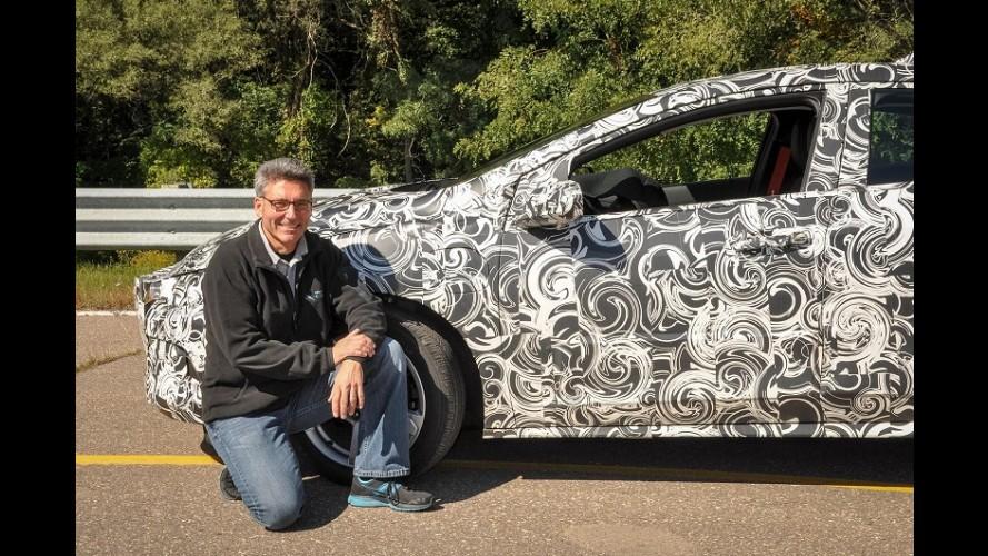 Chevrolet divulga teaser do novo Volt e confirma estreia para janeiro