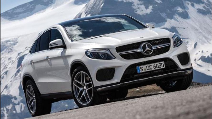 Mercedes, i SUV si noleggiano con AVIS