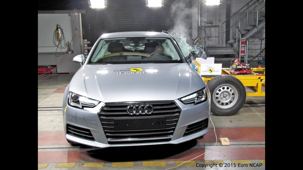 Audi A4, Crash Test Euro NCAP