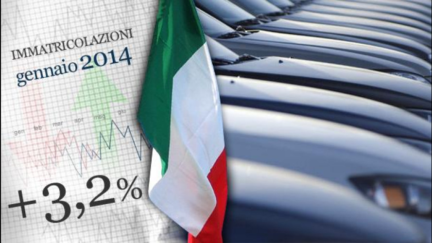 Mercato auto: il 2014 inizia in positivo