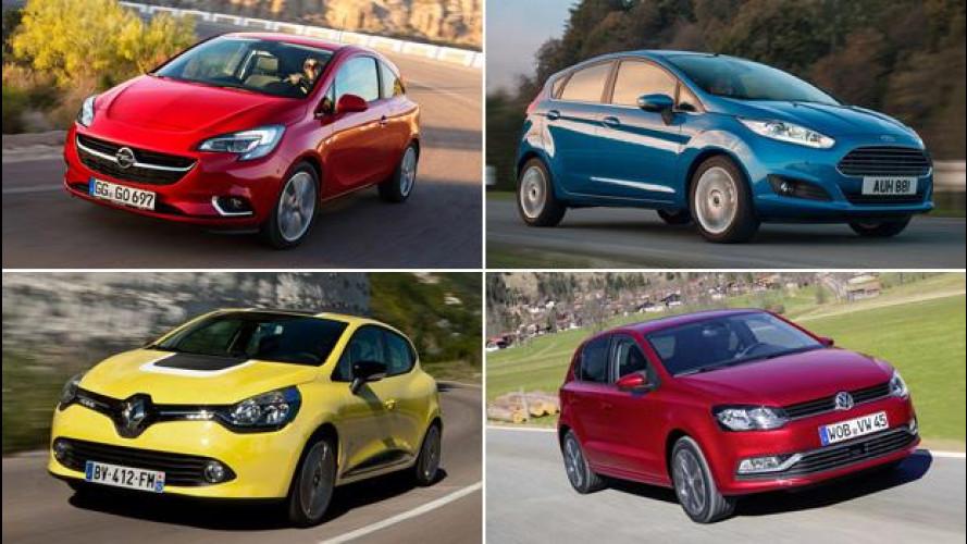 Ford, Opel, Renault e Volkswagen, le piccole che si spartiscono l'Europa