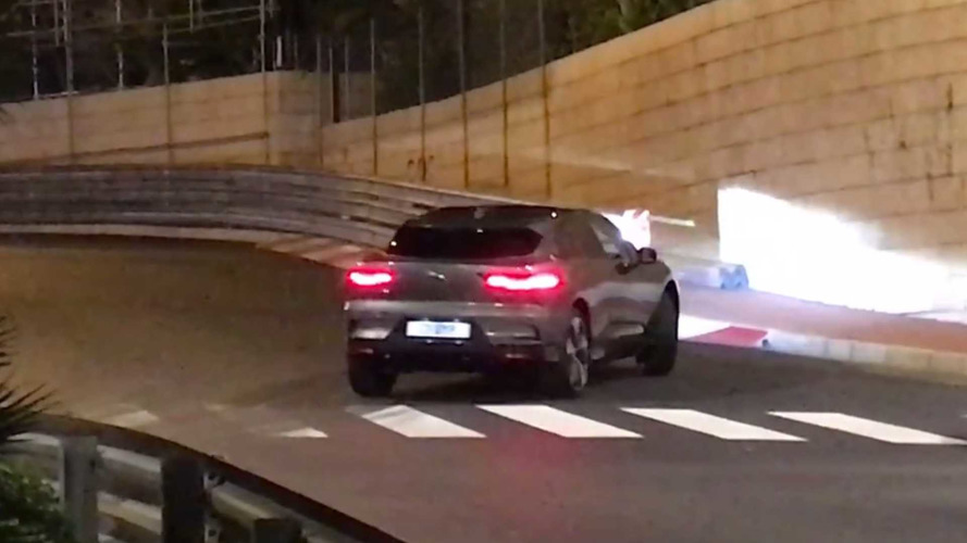 2018 Jaguar I-Pace Spied Without Camouflage In Monaco