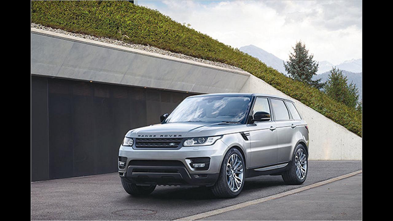 Platz 8: Range Rover Sport 4.4 SDV8 (2.434 Kilo)