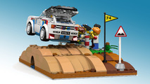 Peugeot 205 T16 Lego Proposal