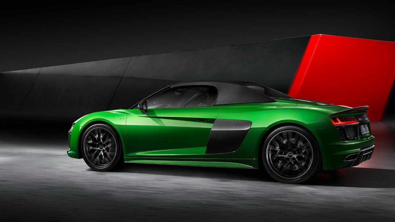 Audi R8 Spyder V10 Plus Debuts In The Metal